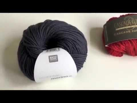 1. Aprende a tejer. Materiales para hacer punto a dos agujas