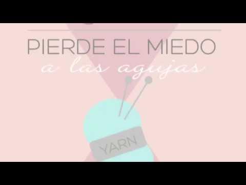 13. Aprende a tejer / Aumento dos agujas / Dos puntos en uno /  kfb español ♥  Laura DIY