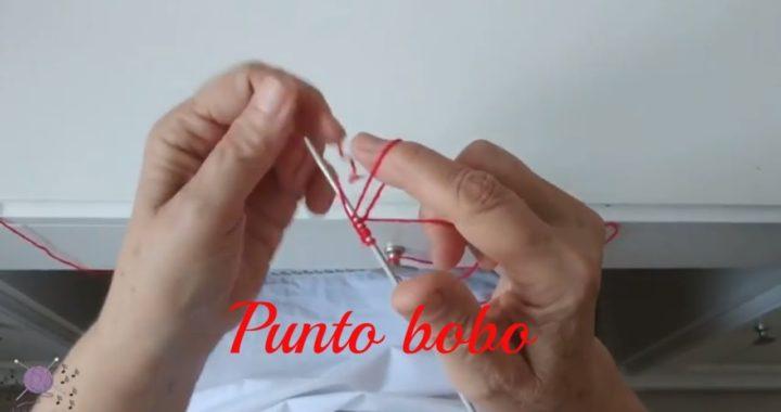 Aprende a echar puntos y tejer punto bobo con dos agujas