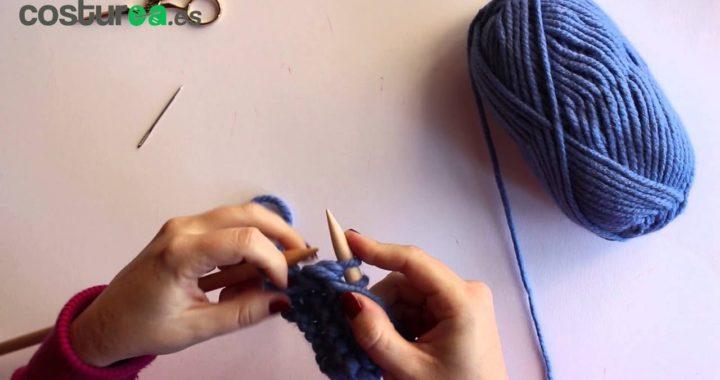 Aprende a tejer con dos agujas