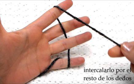 Aprender a tejer en 5 videos: coger la lana y sujetar las agujas