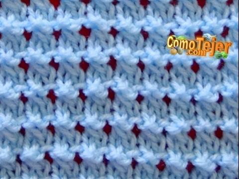 Cómo Tejer Punto Ropa Bebé #15 - Baby Stitch en 2 agujas o palitos (388)