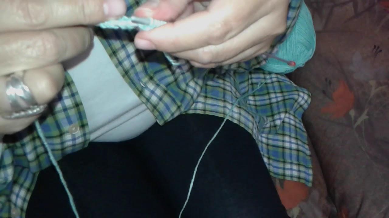 Cómo empezar a calcetar o tejer por primera vez con 2 agujas