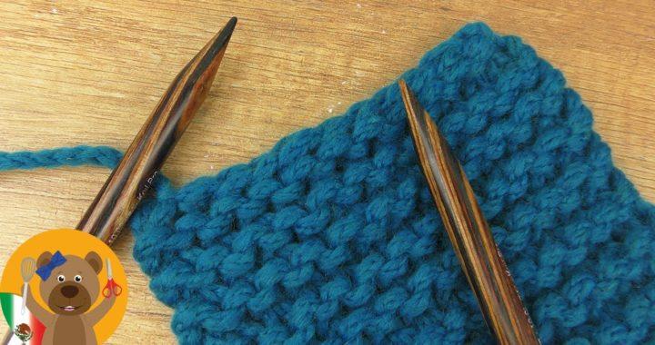 Cerrar puntos - Tejido a dos agujas para principiantes 3 | Aprende a tejer | terminar el tejido