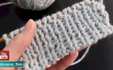 Como Montar los Puntos para tejer con Dos Agujas Método Italiano ✅ Silvana Tim knitting # 851