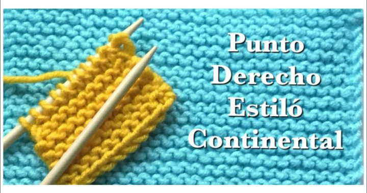 Como tejer con dos agujas:  Para principiantes - Punto derecho | Punto Santa Clara | Bobo | Musgo #2