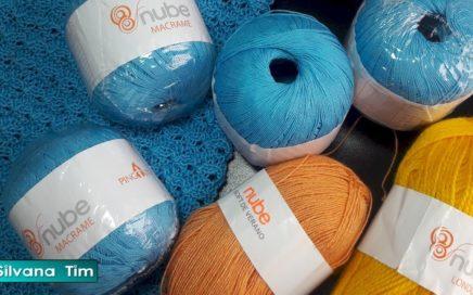 Mis compras de lana e hilo de algodon para tejer con dos agujas (Buenos Aires)