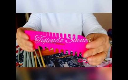 Primera clase: materiales para tejer a dos agujas