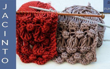 Punto Jacinto: para tejer bolsos en dos agujas - Soy Woolly