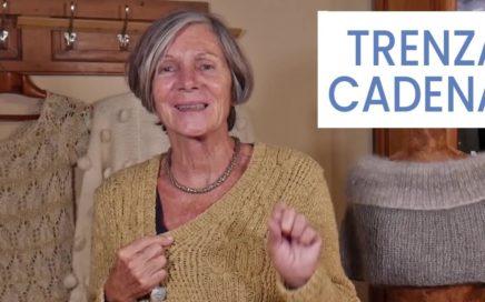 Puntos de #tejer dos agujas ➜ Trenza cadena ➜ Aprender a tejer ochos