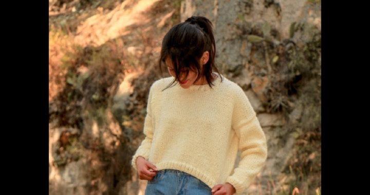 Suéter tejido a dos agujas - tutorial