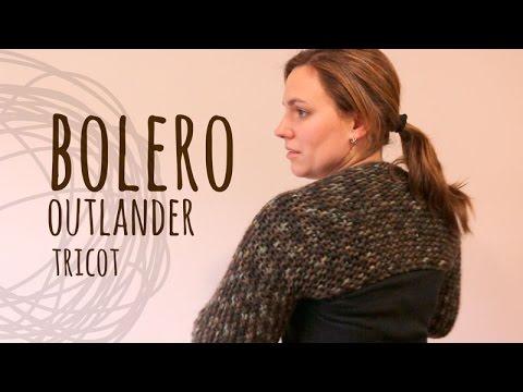 Tutorial Bolero Fácil y Rápido Outlander Tricot | Dos Agujas