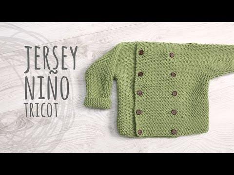 Tutorial Jersey Niño Tricot | Dos Agujas