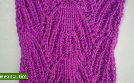 Tutorial de tejido con dos agujas # 209 Punto (puntada) RAÍCES