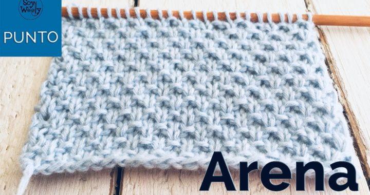 Punto Arena en dos agujas: para tejer ropa de bebé (súper fácil y no se enrosca) - Soy Woolly