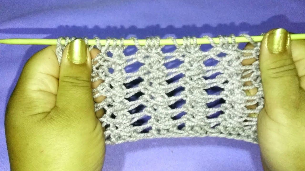 Cómo tejer punto reversible fácil en 2 agujas paso a paso para bufanda, chaleco